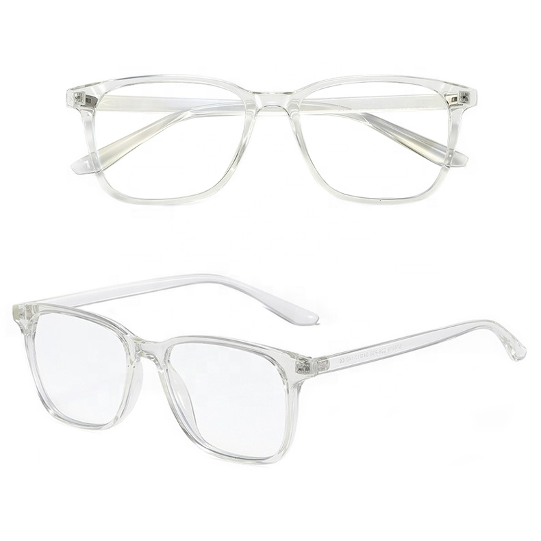 Očala za blokiranje modre svetlobe prozoren okvir