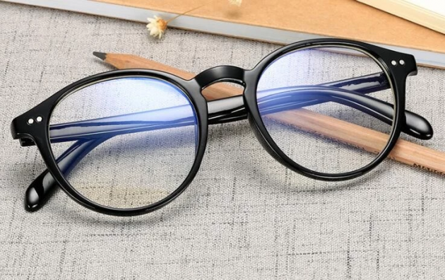 Očala za računalnik, blokiranje modre svetlobe okroglasta