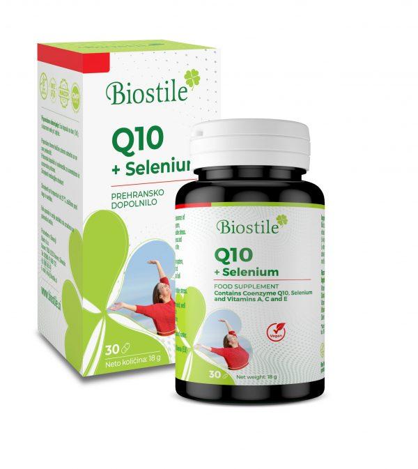 Prehransko dopolnilo Q10 + Selenuim
