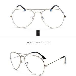 Očala za računalnik srebrna